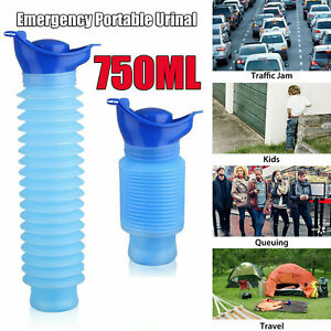 Male & Female Portable Urinal Travel Camping Car Toilet Pee Super Bottle 750ml