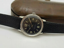USED VINTAGE ZODIAC BLACK DIAL AUTO MAN'S WATCH