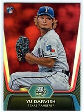 2012 Bowman Platinum Ruby Parallel - YU DARVISH [9] RC - RAREST Parallel: 1/box
