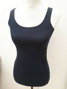 H&M Mama Ladies Size XS 4 6 Navy Blue Maternity Strappy Top Spring Fashion Vest