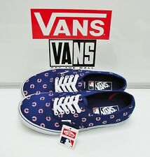 776d785831 Vans Authentic MLB Chicago Cubs Blue VN0A2Z5IKU6 Men s Size  11