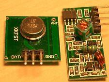 433-mhz. 4x transmisor/transmisor & 4x receptor/receiver, Arduino