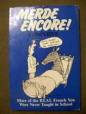 Merde Encore! by Genevieve(1988, Paperback)