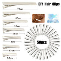 50PCS Hair Clips DIY Crocodile Alligator Duckbill Hairpins Findings Bows Making
