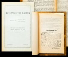 1944 Flugschrift Alexandre Kojeve Aussenpolitische Blaetter