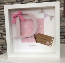 Personalised New Baby, Birth, Christening, Boy & Girl Frames Gift/Keepsake
