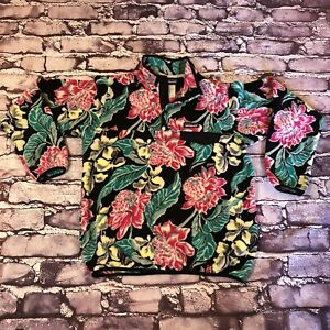Patagonia Synchilla Snap-T Fleece Pullover Floral All Over Print size Medium