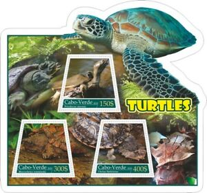 Stamps Fauna Turtles