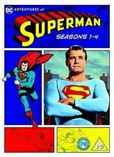 The Adventures of Superman Seasons 1 to 4 UK DVD