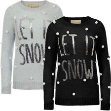 Damen-Pullover & -Strickware aus Polyester für Weihnachten