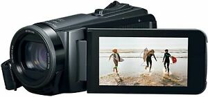 Canon VIXIA HF W10 Video camera Camcorder with Built-in Memory (8GB), Waterproof