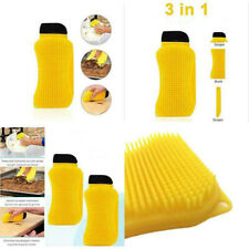 Sponge Dishwashing Scrubber Kitchen Dish Multi-Function Silicone Cleaning Brush