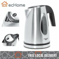 iNNOWARE 1.7L Stainless Steel Cordless 2200W Boil-Dry Protect Electric Kettle