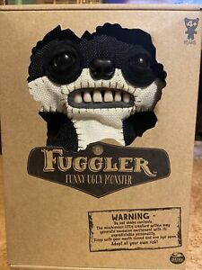 "FUGGLER SUSPICIOUS FOX BLACK BURLAP CHASE GLOW IN THE DARK 9"" FUNNY UGLY MONSTER"