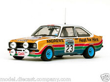 FORD ESCORT MK2 RALLY NO23 WRC 1:18 DIECAST MODEL COLLECTORS PIECE GREAT DETAIL