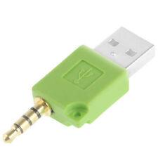 Adaptador sincronización datos cargador USB para Ipod Shuffle 1st 2st gen nuevo