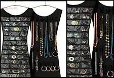 2-Way Hanging Jewelry Organizer Little Dress Black or Pink