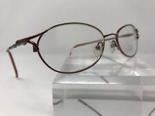 Authentic Christie Brinkley bronze metal frames eyeglasses 52-14-135 N500