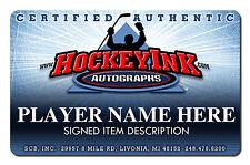 JOHNNY BOWER Signed Northland Goalie Stick - Toronto Maple Leafs