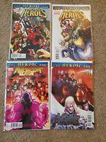 The Heroic Age - Age Of Heroes #1 & 2, Avengers #2, Secret Avengers 1 Lot