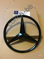 Mercedes Benz C Class W204 2011-2014 Front Grille Star Badge Emblem Gloss Black