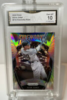 🔥🔥 AARON JUDGE 2020 PRIZM FIREWORKS  #F-10  YANKEES GMA 10 Mint