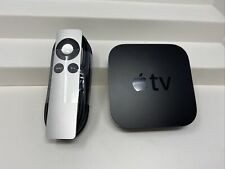 Apple TV (3rd Generation) HD Media Streamer -- A1469 With Power Cord and Remote