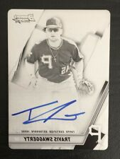 2019 Bowmans Best Printing Plate Autograph Travis Swaggerty RC Auto 1/1