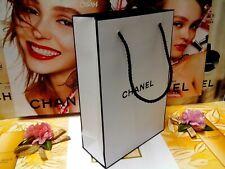 "CHANEL Classic Black & White Paper Gift/Shopping Bag✰☾Size:""16x7x23.5""CM☽✰B/NEW!"