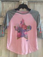 Shopkins Girls Shirt T-Shirt Spring Size 10-12