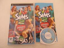 LES SIMS 2 ANIMAUX & CIE - SONY PSP - Jeu PSP COMPLET