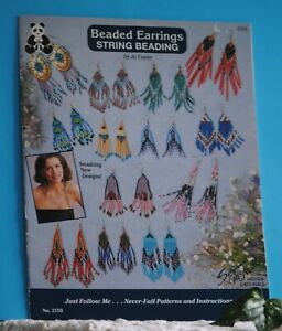 Bead Instruction Book Earrings Jo Cuppy #2153 Suzanne McNeill 18 Pages