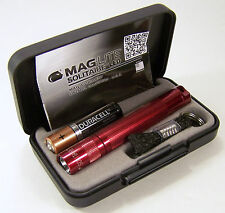 Fathers Day Maglite Solitaire LED 1 Cell AAA Flashlight J3A032 Presentation Box