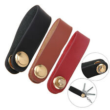 Genuine Leather Key Wallet Key Organizer Holder Keyring Keychain Famous Designer