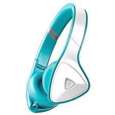 Monster DNA Headphones - Turquoise & White - On Ear - Noise Isolation - New Demo