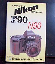 Completa Nikon F90 N90 Camera Usuario Guide Amo Manual de Instrucciones B00117