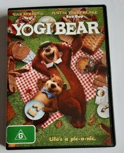 Yogi Bear Kids PAL DVD R4 VGC