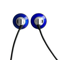 HIFIMAN High Quality ES100 Vintage Style Earbuds/Earphone-Blue,Wired