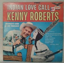 "Kenny Roberts ""Indian Love Call"" Autographed 1965 Vinyl LP 201028"