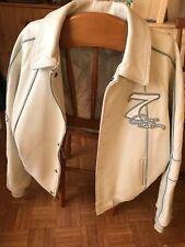 """Damani"" Dada Supreme veste en cuir blanche/white leather jacket collector XXL"