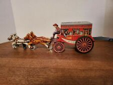 Vintage Alps Made in Japan Tin Butterfield Stage Lines Overland Stage Coach