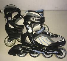 New listing Bladerunner Pro 80 Mm Rollerblades Inline Skates ABEC 5 Men's Size 7 Black Blue