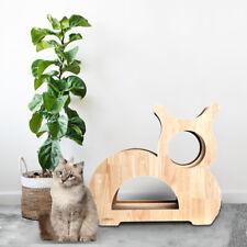 Cat Tree Furniture Kitten House Play Tower Scratcher Beige Condo Post Bed