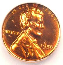 1956 Proof Lincoln Wheat Cent 1C - Certified ICG PR70 (PF70) - Rare Top Grade!