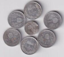 AUSTRIA LOTTO 7 MONETE IN ARGENTO, VEDI FOTO