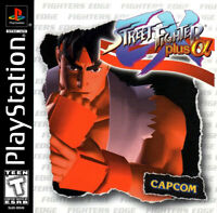 🔥 Street Fighter EX Plus Alpha Playstation PS1  Disk Only