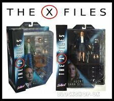 "The X-Files - Agent Fox Mulder & Dana Scully 7""inch - Action Figure - Toys"