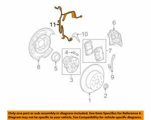 89516-22020 Toyota Wire, skid control sensor 8951622020, New Genuine OEM Part