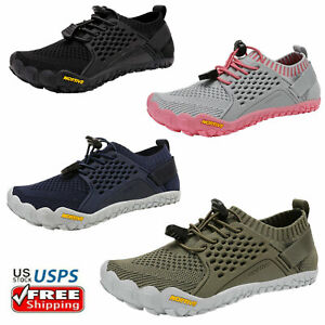 Boys Girls Big Kids Youth Barefoot Quick-Dry Athletic Sandals Water Shoes