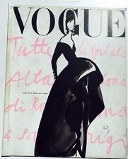 Dossier sfilate autunno inverno 1990-1991 supplemento Vogue Italia speciale 31